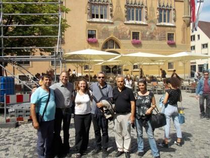 17.07.2018: Zusammen mit den türkischen Kollegen in Ulm