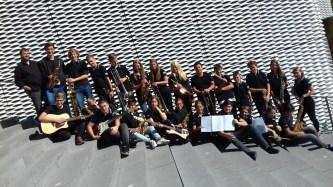 """25.09.2018: Cool und voller Spielfreude! — Die Big Band rockt das """"Forum Bildungspartnerschaft"""" der IHK"""