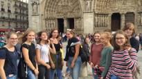 12.10.2018: Französischkurse vor Notre Dame