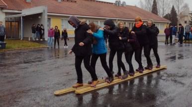 30.10.2018: 11 Schüler sind sind vom 29.10 bis 8.11 in Muhos, Finnland