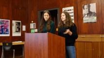 20.11.2018: Arbeiten hart für den Grünen Aal - die Umweltmentorinnen