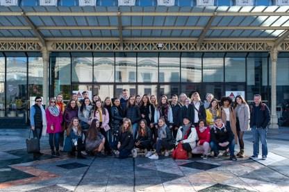 12.-16.11.2018: Im Rahmen des Erasmus+-Projekts mit Schulen aus Nîmes , Südfrankreich, und Prešov in der Slowakei knüpfen SchülerInnen der Erasmus-AG Freundschaften in Paris - in Begleitung von Renate Esber-Trost und Silvia Glimschi