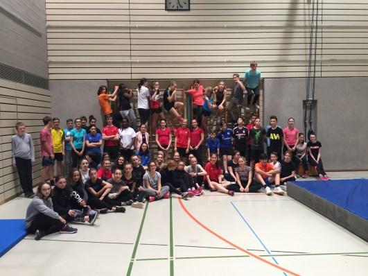 09.-17.12.2018: Grenzenlos sportlich mit den Freundinnen und Freunden aus Saint-Lô