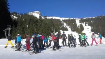 24.02.-01.03.2019: Klasse Schnee im Skischullandheim