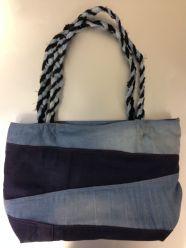 Tasche aus Jeanshosen