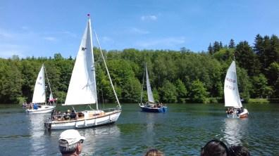 """02.06.2019: Die Zugabe auf vier Segelbooten: """"SG Big Band — 30 Years Good Vibes!"""""""