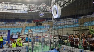 28.09.2019: Beim Wettkampf mit den Drone Balls