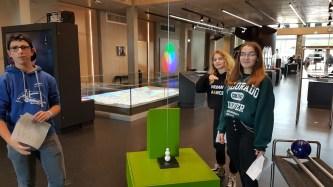 """11.10.2019: Besuch des Explorhino zum Thema """"Energie"""" (Klassen 9)"""