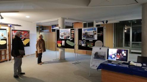 26.10.2020: Die Ausstellung zum Erasmus+-Projekt ist bis zum 06.11.2020 im Rathaus zu sehen