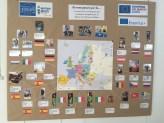 "Europakarte im ""Maison de l'Europe"""