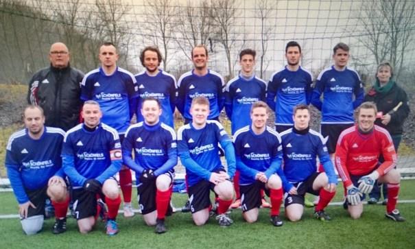 Mannschaftsfoto der SG Insel Fehmarn III - Saison 2015/2016