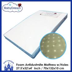 Babydream 27 5 X52 X4 Antidustmite Mattress With Holes