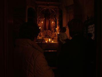 Messe in der St. Anna Kapelle