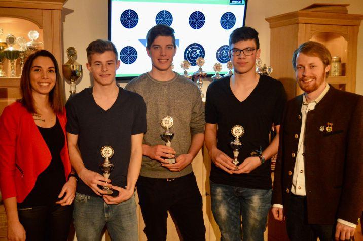 Jugend Vereinsmeister 2016/2017