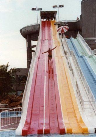 The 85m long slide!