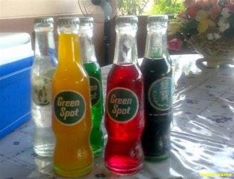 Green Spot Bottled Drinks