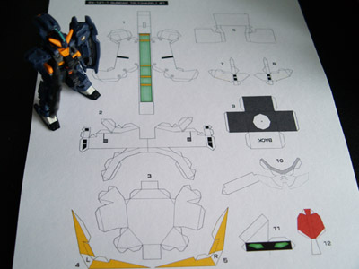 Papercraft TR-1 Hazel [Part 2]  (1/4)