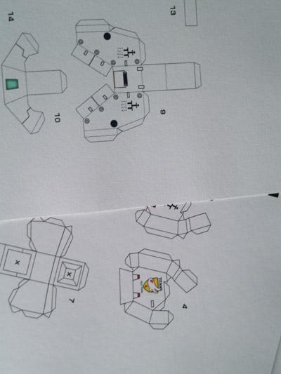 Papercraft TR-1 Hazel [Part 2]  (4/4)