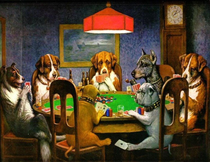 The Most Famous Arts that Explore the Motif of Gambling