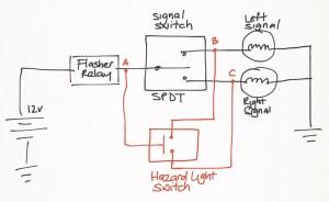 Weekend 200NS hazard light project – Ramblings of a Singapore Biker Boy