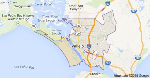 Main Sacramento Map Cities