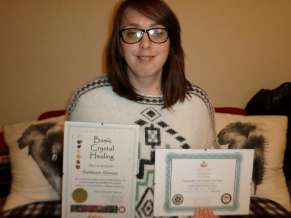 Happily with my certificates