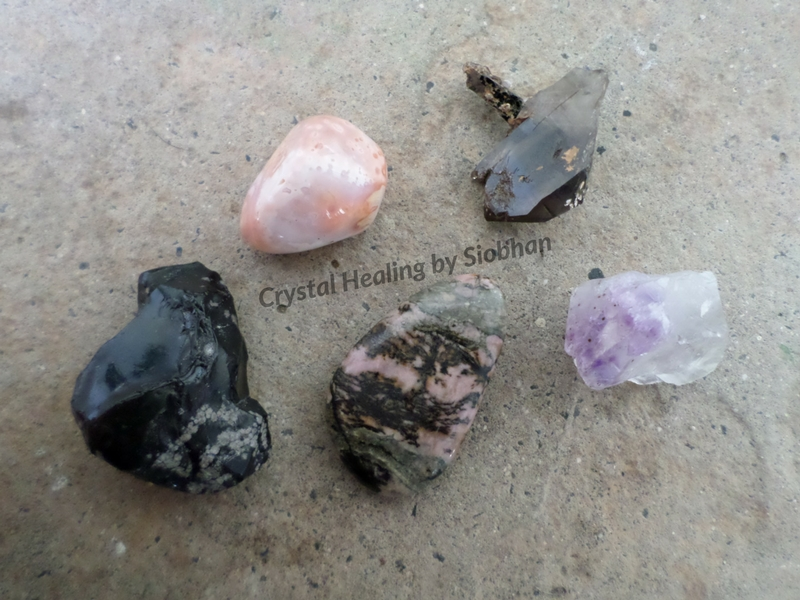 Crystals for Letting Go and Moving On