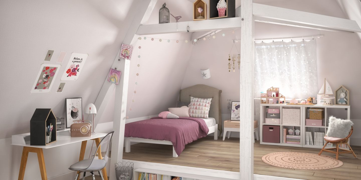 Deco Chambre Ado Fille Cocooning The Full Room