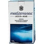 MEDITERRANEA agua de mar especial para cocinar y conservar el pescado y marisco envase 1,5 l