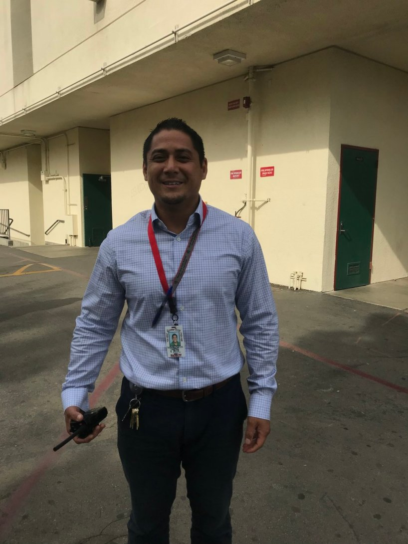 Mr. Santos can breakdance. He is also skilled at Thai Kwan Do and kick boxing for self-defense.