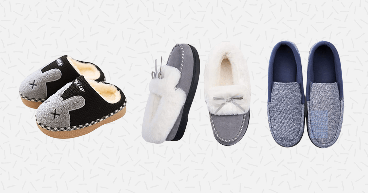 28 best house slippers on amazon
