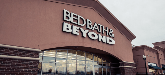 bed bath and beyond is having an