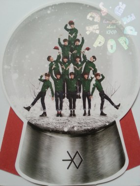 EXO - Miracles in December Group Snow Globe Standee