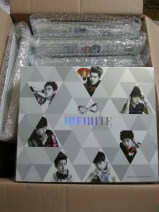 INFINITE Official Binder that arrived this week!
