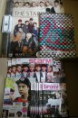 Magazines & merchandises that arrived tdy! #02