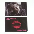 BEAST Good Luck Hyunseung Black Lips Card
