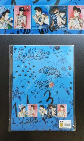 Henry (Super Junior M) - Clear File set
