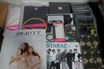 Merchandises & Magazines that arrived tdy! #02