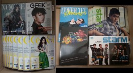 Magazines & Photobook that arrived tdy! #07