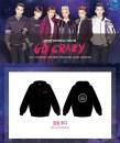 2PM 2014 'Go Crazy' Concert Goods - Zip-Up Hoodie