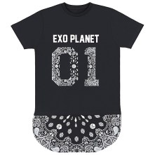 2014 EXO The Lost Planet In Japan Goods - T-Shirt (Black)