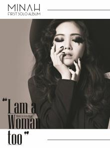 GIRL'S DAY MINAH FIRST MINI ALBUM - I AM A WOMAN TOO Normal Album