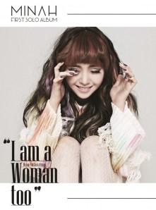 GIRL'S DAY MINAH FIRST MINI ALBUM - I AM A WOMAN TOO (Smart Music Card Album)