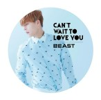 BEAST - Can't Wait To Love You (Japan Version)(Limited Edition)(Dongwoon Version)