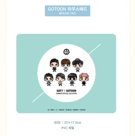 GOT7 X GOTOON SUMMER OFFICIAL COLLECTION - MOUSE PAD