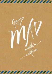 GOT7 MINI ALBUM REPACKAGE - MAD (WINTER EDITION)(MERRY VERSION)
