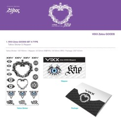 VIXX ZELOS OFFICIAL GOODS SET A Preview
