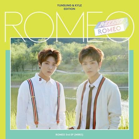ROMEO Mini Album Vol.3 - MIRO (Yunsung & Kyle Edition)