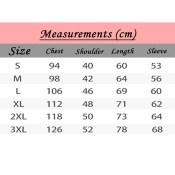 BTS The Wings Tour Hoodie Measurements