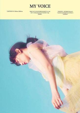 TAE YEON VOL.1 – MY VOICE (Deluxe Edition)(Sky Ver.)